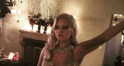Lady Gaga American Horror Story party