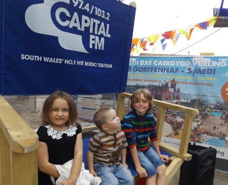 Sinclair VW At Cardiff Bay Beach - 20.08.2015