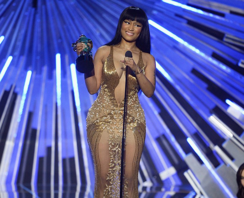 Nicki Minaj wins Best Hip Hop Video at the MTV VMA
