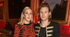 Ellie Goulding and Dougie Poynter  LFW
