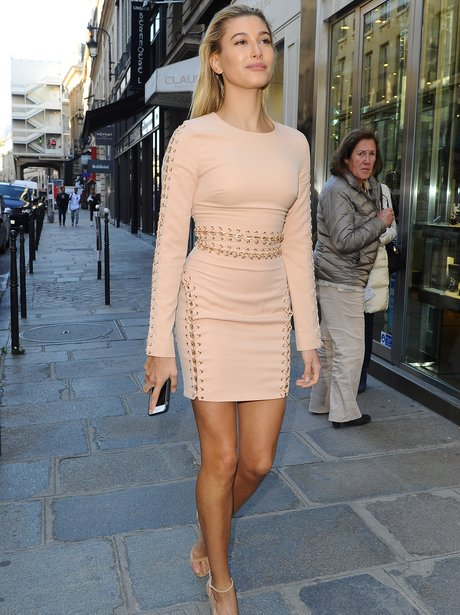 In the nude! Hailey Baldwin showed off her INCREDIBLE bod