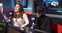 Tinie Tempah and Katy B In The Capital Studio