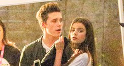 Brooklyn Beckham with Sonia Ben Ammar