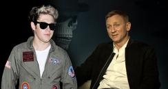 Niall Horan/James Bond (Daniel Craig)