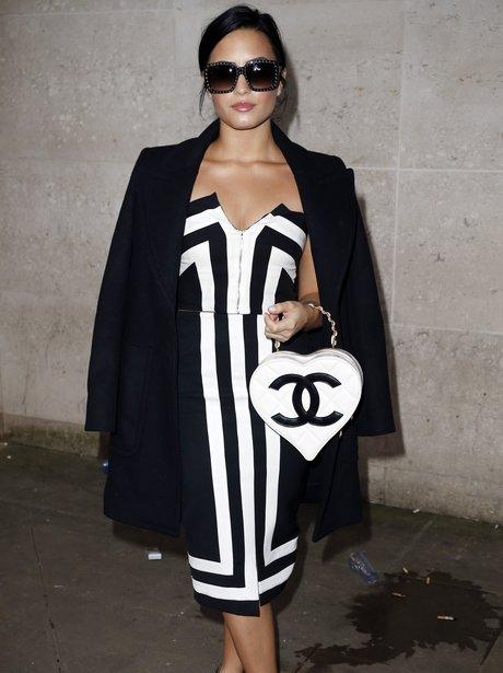 Demi Lovato Monochrome Outfit