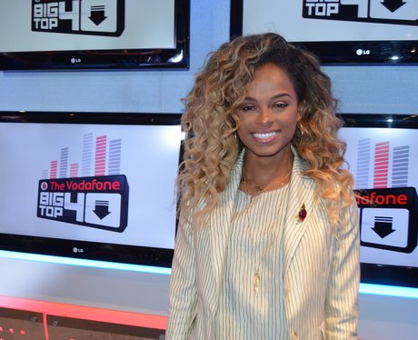 Fleur East Big Top 40 Studio