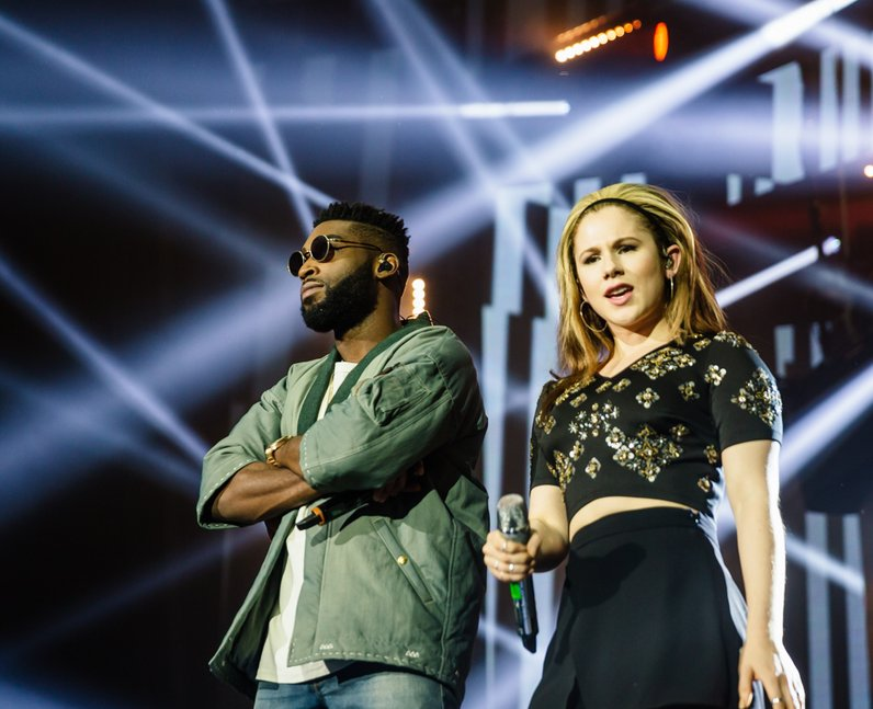 Tinie Tempah and Katy B Jingle Bell Ball 2015 Live