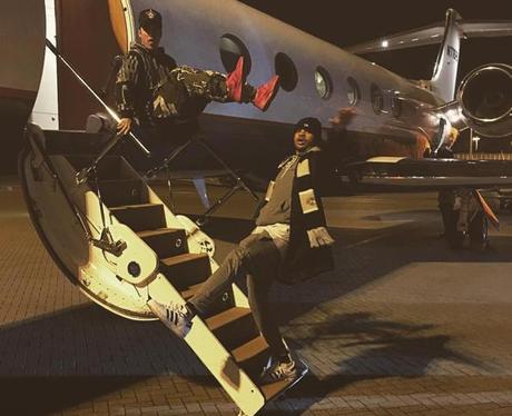 Justin Bieber Airport Instagram