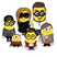 Image 6: Beckhams as minions Instagram