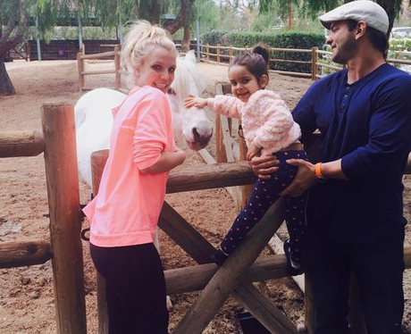 Britney Spears proudly shows off her horse for a family ... Britney Spears Instagram