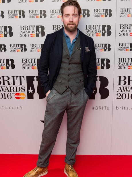 Ricky Wilson attends Brit nominations