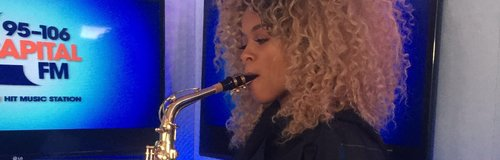 Fleur East Playing The Sax