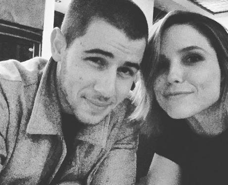 Nick Jonas And Sophia Bush Instagram