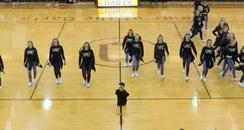 Cheerleader with no limbs