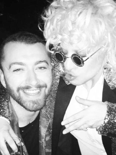 Sam Smith And Lady Gaga Instagram