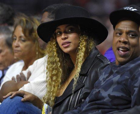 Beyonce and Jay-Z Basketball 2016