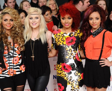 Little Mix at the NTA's 2012 with big hair