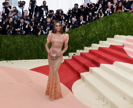 Beyonce attends benefit Met Gala 2016
