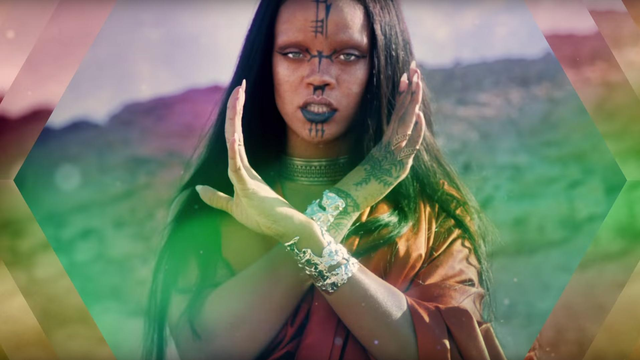 Rihanna's New Video For 'Sledgehammer' Is, Quite Literally, Out Of This World