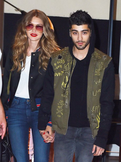 Zayn Malik and Gigi Hadid holding hands