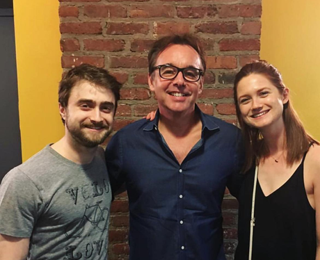 Daniel Radcliffe and Bonnie Wright reunite