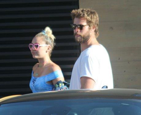 Miley Cyrus and Liam Hemsworth celebrate Labour Da
