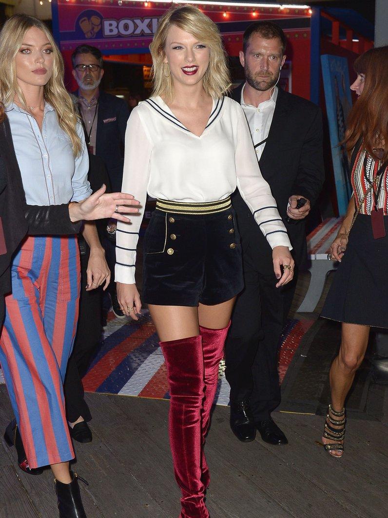 NYFW SS17 Taylor Swift Tommy Hilfiger