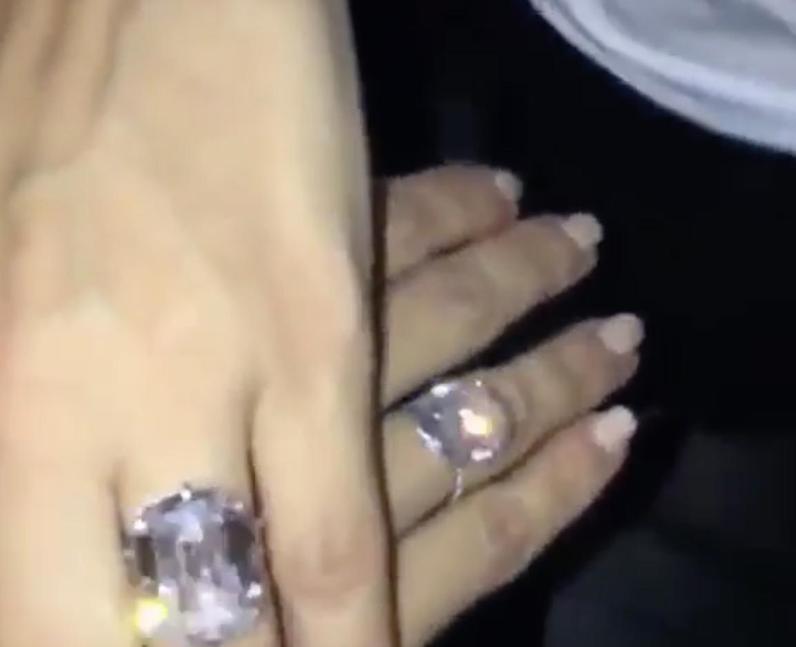 Kim Kardashian's Ring - Is This the $4.5 Million Ring That ...