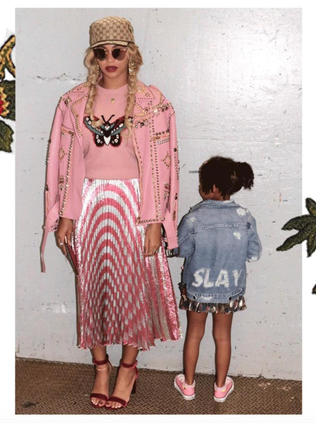 Beyonce and Blue-Ivy Fashion Moments 15th Oct