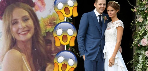 Millie Mackintosh covered her wedding dress in fakDid Millie Mackintosh ACTUALLY Cut Up And Cover Her Wedding Dress  . Milly Wedding Dresses. Home Design Ideas