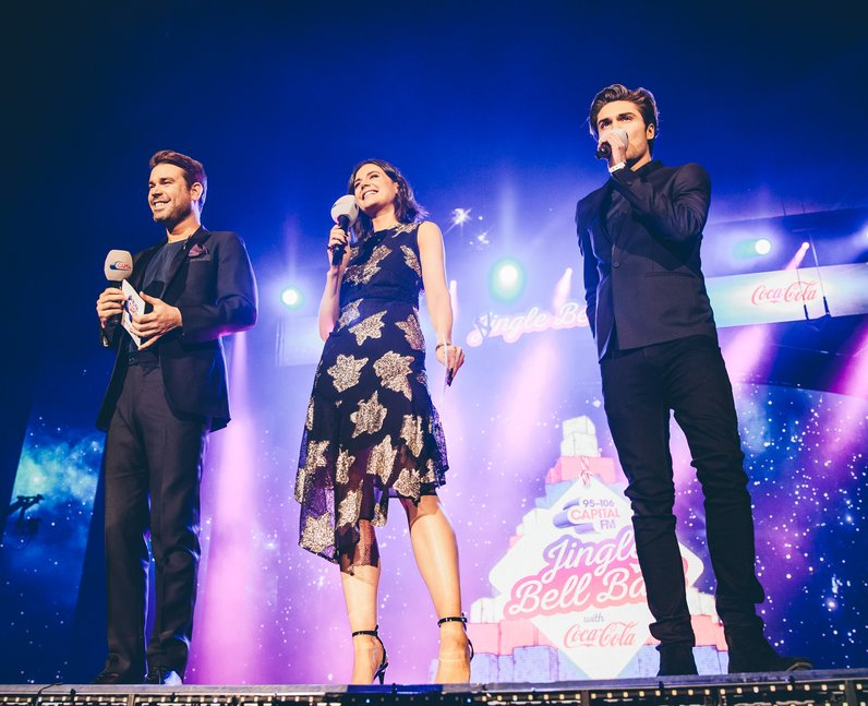 Dave Berry George and Lilah Jingle Bell Ball 2016