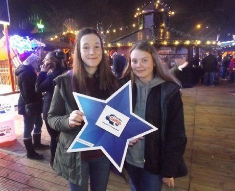 Nathaniel Cars At Winter Wonderland 16/12/16