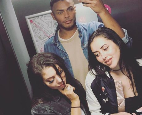 Chloe Ferry is reunited with Geordie Shore castmat