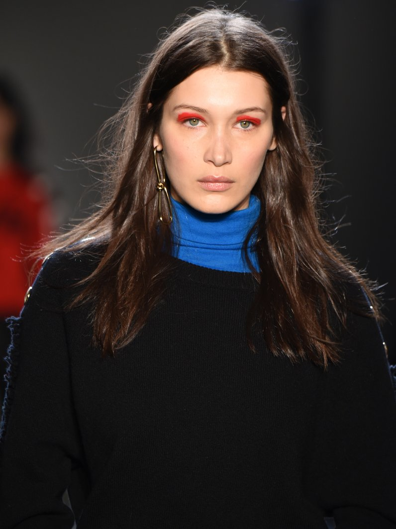 NYFW Make Up Bella Hadid at Zadie & Voltaire