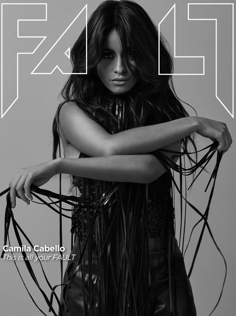 Camila Cabello covers Fault Magazine