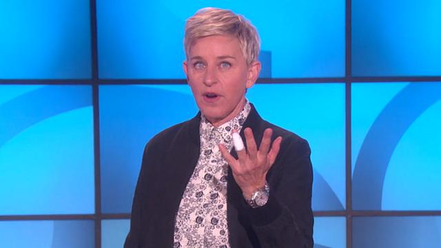 WATCH: Ellen DeGeneres Dislocated Her Finger & The Story Of How It Happened Is Amazing