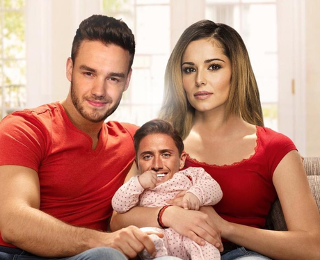 Stephen Bear has photoshopped himself as Liam and