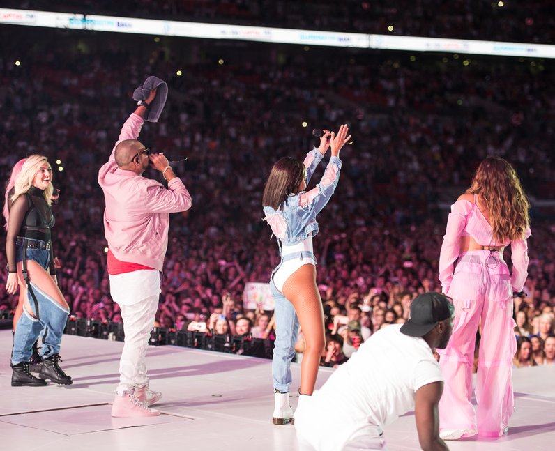 Little Mix with Sean Paul Summertime Ball 2017