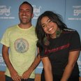 Jordin Sparks visits Lucio at Capital Towers
